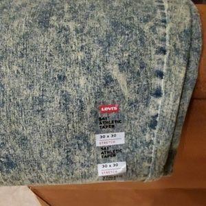 Levi's Jeans - Levi 541 Athletic Taper Acid Wash Jeans